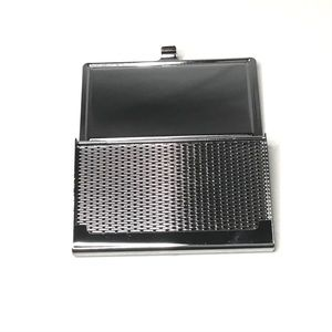 Accessories - Black & Silver Business Card Holder